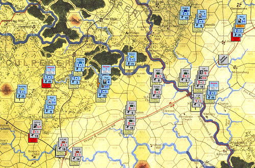 Stonewall Jackson's Way - Lee vs Pope Turn 2