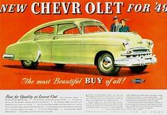 1949 Chevrolet Fleetline 4-Door Sedan (aldenjewell) Tags: chevrolet sedan ad 1949 fleetline 4door