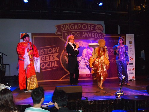 Singapore Blog Awards 2011