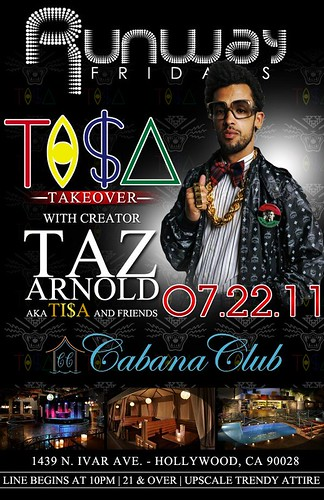 Ti$Δ Take Over w/ TAZ Arnold & More | NFL Back 2 Camp Party w/ 10+ Players by VVKPhoto