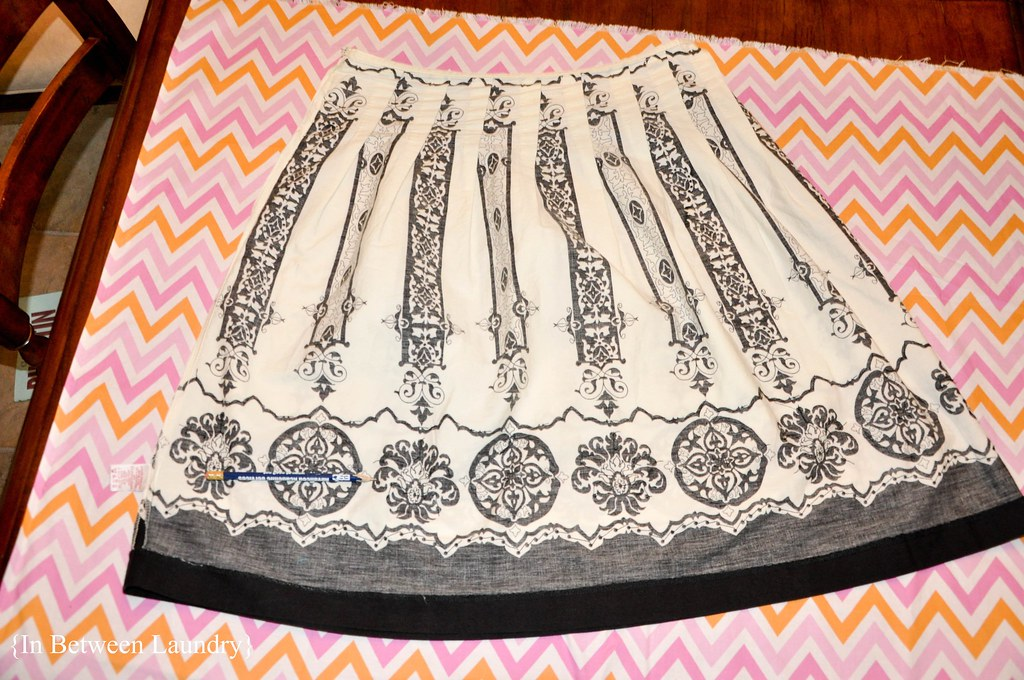 sewing a skirt without a pattern