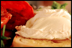 poached eggs (hasara.f) Tags: newington armoury poached egges newingtonarmoury