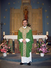 Fr. Richard Tartaglia of St. Mary's Catholic Church