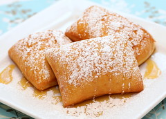 Beignets (Food Snots) Tags: new light breakfast recipe dessert orleans fluffy sugar southern honey donuts recipes fried powdered beignets