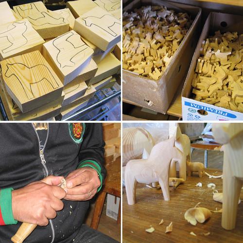 Creating Dala Horses