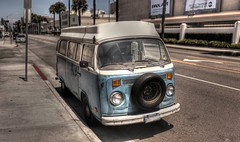 072411-1HDR (Jeremy Weatherly) Tags: venice panorama bus vw volkswagen 50mm los pentax angeles bokeh pano f2 hdr blvd f20 brenizer menthod