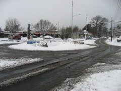 5697 Snowy roundabout