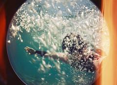 Underwater (Irene Stylianou) Tags: sea summer selfportrait june analog 35mm lomo lomography underwater seasons toycamera cyprus bubbles 200asa 200iso fisheye analogphotography larnaca kodakgold expiredfilm selfie kodakfilm filmphotography lomographic kodakgold200 fisheye2 sooc fisheyeii lomographyfisheye2 filmdatabase irenestylianou cyprusweather