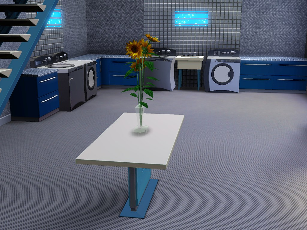 Sims 3 Town Life Stuff Pack Inside Laundromat