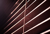Blinds (jev55) Tags: wood light shadow brown macro nikon string blinds