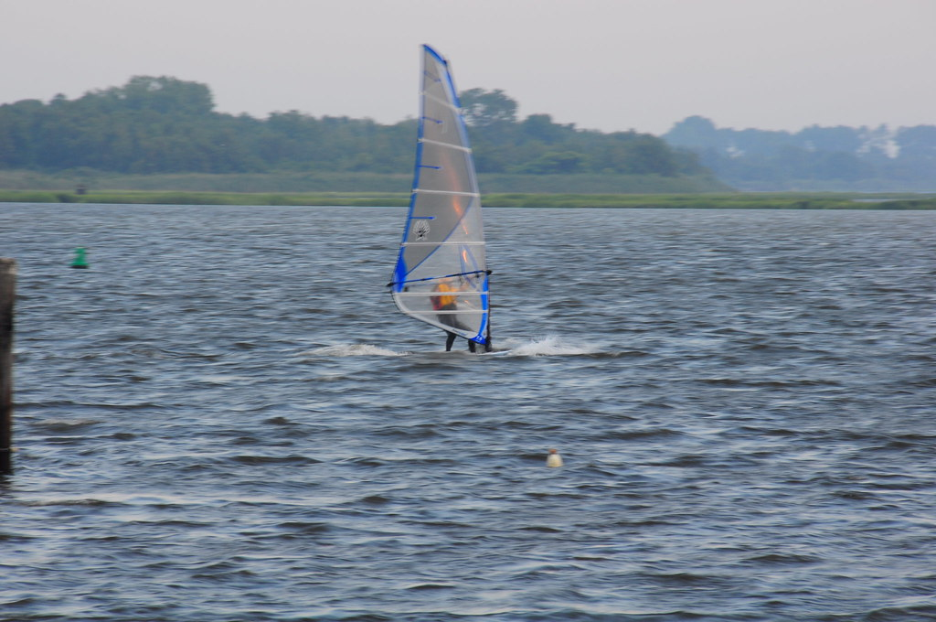 Woodmere Yacht Club Hewlett Bay Sailing Sunset Windsurfing