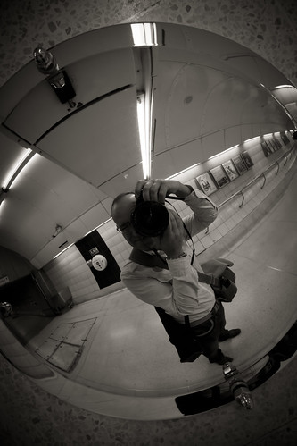 561/1000 - Self Portrait on the Underground by Mark Carline