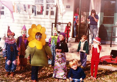hallowe'en circa 1978