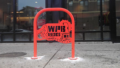 WPB RIDES (Steven Vance) Tags: road street orange wickerpark bike bicycling design wpb bicicleta transportation vlo bikerack ssa roadway dero milwaukeeavenue bikeparking bikecorral wickerparkbucktown onstreetbikeparking ssa33 bikeparkingcorral bikechi wpbrides