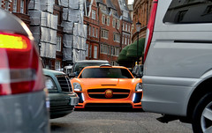 Rush Hour (tWm.) Tags: uk fab orange london mercedes benz design nikon stream body thomas gull wide mein arab nikkor f4 sls amg qatar widebody 24120 qatari gullstream d7000