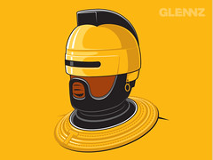 RoboT (Glennz Tees) Tags: art nerd fashion illustration movie design tv team funny geek drawing humor cartoon tshirt illustrator ba draw mrt popculture tee vector ai robocop apparel adobeillustrator glenz glennjones a glenjones glennz gleenz glennnz