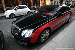 Xenatec (Richard de Heus) Tags: red black london harrods coupe coup 177 maybach 57s xenatec cruisero