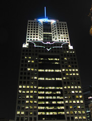 Batman's Bat-Signal in Downtown Pittsburgh (Anirudh Koul) Tags: dark pittsburgh batman knight rex magnus rises darknightrises magnusrex