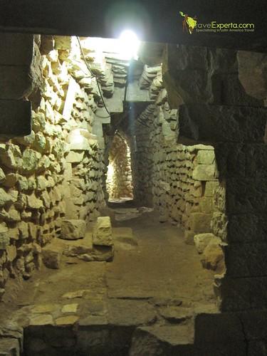 Mayan Ruins Underground Tunnels Copan Honduras