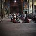 Devotees taking rest