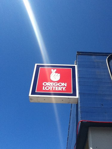 Oregon Lottery Sign