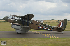 G-AGJG - 6517 - Scottish Airways - De Havilland DH-89A Dragon Rapide - 110710 - Duxford - Steven Gray - IMG_7982