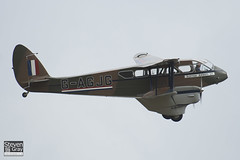 G-AGJG - 6517 - Scottish Airways - De Havilland DH-89A Dragon Rapide - 110710 - Duxford - Steven Gray - IMG_7940