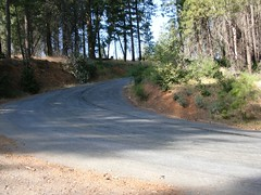 Oxbow Corkscrew Wall steep switchback 2 (kittyz202) Tags: california road county foothills mountains bike bicycle cycling climb ride hill sierra climbing placer