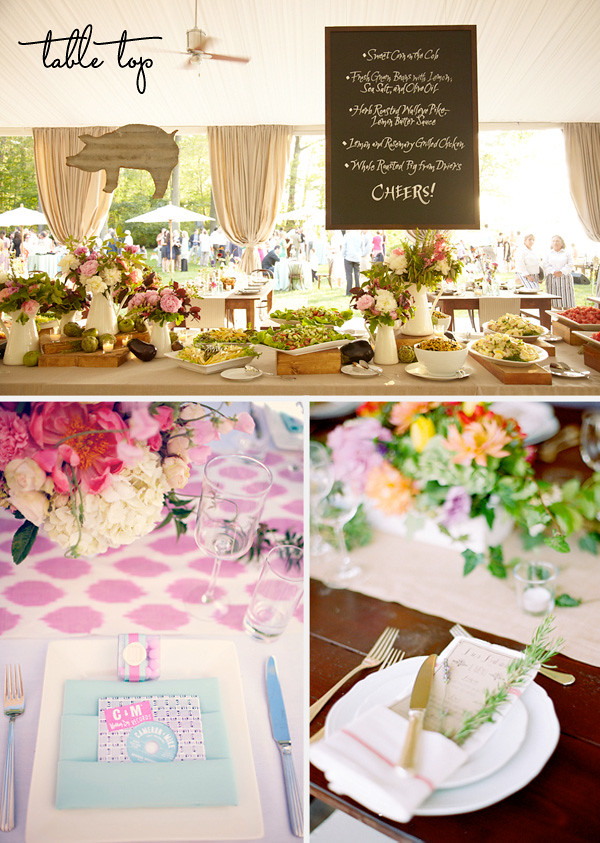 Omaha, Nebraska Wedding Planner table_top