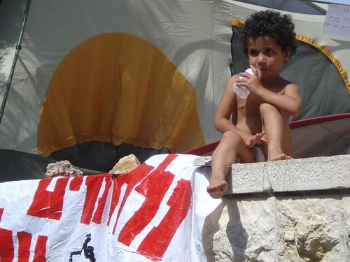 Jerusalem Tent Protest