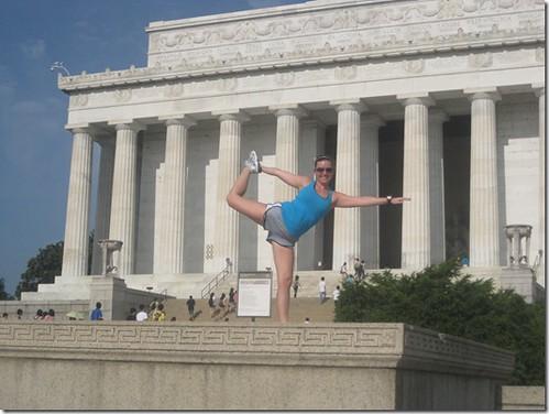 Megan yoga