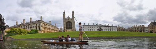 King's College from the river