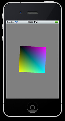 Android opengl es example code