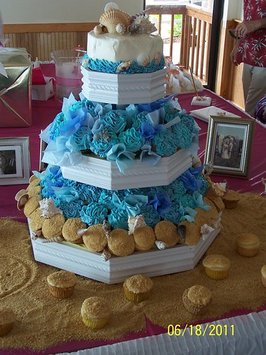 Beach Wedding Theme Angry Birds Cupcakes