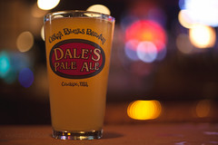 oscar blues. (tumbleweed.in.eden) Tags: beer bar lights bokeh wheat co lyons dalespaleale oscarblues tipsytuesday priscillawheat