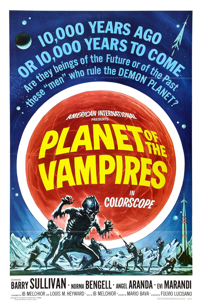 Reynold Brown - Planet of the Vampires (American International, 1965)