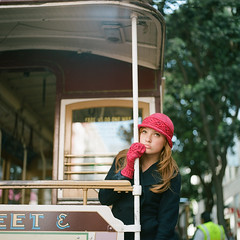 in between shots (*Cinnamon) Tags: sf film mediumformat cablecar em hasselblad500cm 80mmf28 kodakportra160 scoutj twistcollective