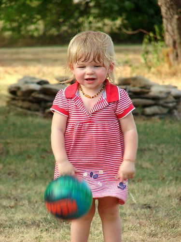 Kait playing ball pic 2