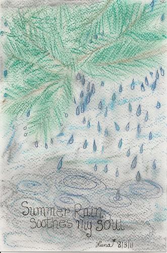 Summer Rain by northwoodsluna