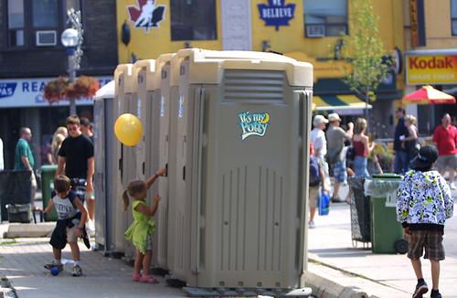Image result for porta potty Toronto