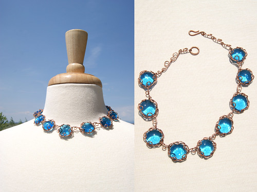Boho Beach Glass- Necklace