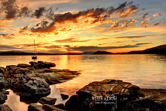 Be Aware of Wonder (Ireena Eleonora Worthy) Tags: sunset red canada yellow painting wonder gold bc secret victoria vancouverisland ardmore beautifulbritishcolumbia nikond700 blinkagain bestofblinkwinners artistoftheyearlevel3 ireenaworthyphotography northernstraitsphotography