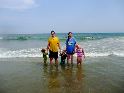 Family at Assateague Island 2011