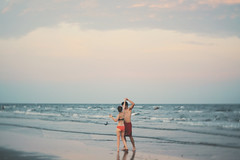 By the sea (trench_mouth) Tags: love beach water couple dancing bryan lacey trenchmouth