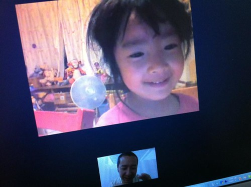 Skypeでヤッホ~