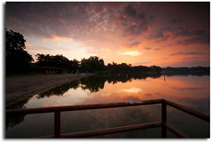 Sunrise on Lake Johanna (priyaswtc) Tags: longexposure summer minnesota sunrise se lee filters mn stacked uwa ultrawideangle ardenhills efs1022mmf3545usm lakejohanna canonrebelxti softedge 9nd 6gnd 9gnd