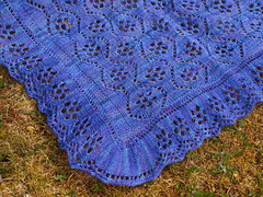 Waterlilies Shawl