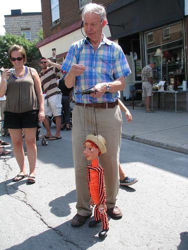 Marionette guy