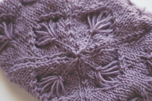 cornflower hat