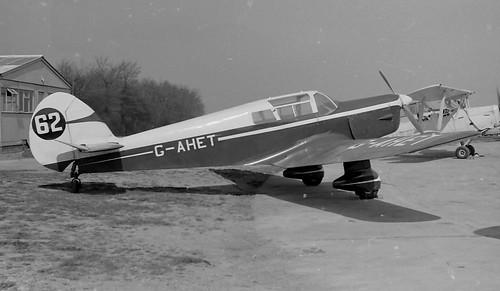 G-AHET  Biggin 1960